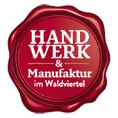 "Logo of the initiative ""Handwerk & Manufaktur im Waldviertel"""